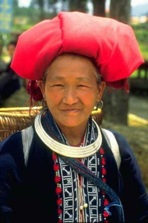 Dao hill tribe woman, Sapa.