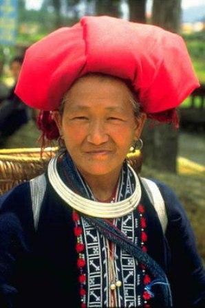 Dao hill tribe woman, Sapa.